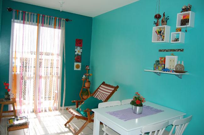 decoracao de interiores simples e barata : decoracao de interiores simples e barata:de Ambientes: Investir na pintura é solução simples para