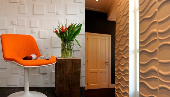 papel de parede decoracao de interiores:Decoração de interiores: Papel de Parede 3D para moradores